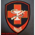 Нашивка на рукав Медицинская служба МВД