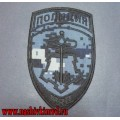Шеврон подразделения ВОХР МВД России камуфляж Цифра синяя