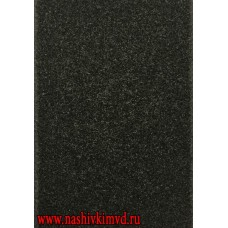 Липучка черного цвета для шевронов мягкая часть петля 10 х 14 см