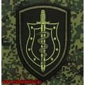 Нашивка на рукав спецназа ФСКН