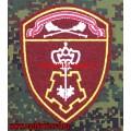 Шеврон сотрудников вневедомственной охраны ЦО войск национальной гвардии