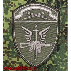 Вышитый шеврон Специальные подразделения СЗО Росгвардии