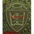 Полевой шеврон учебных воинских частей Росгвардии Центрального округа