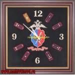 Настенные часы с символикой ГУУР МВД РФ