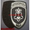 Полевой шеврон подразделений вневедомственной охраны МВД с липучкой