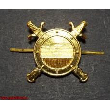 Эмблема петличная Внутренняя служба МВД для парадной формы
