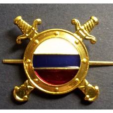 Эмблема петличная Внутренняя служба МВД нового образца