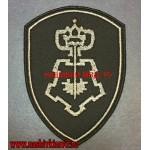 Шеврон сотрудников ЦСН вневедомственной охраны ВНГ черный фон
