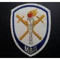 Шеврон Следственные подразделения МВД для рубашки белого цвета