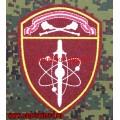 Шеврон подразделений по охране ВГО и СГ Центрального округа Росгвардии
