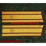 Погоны ВНГ для парадного кителя звание майор
