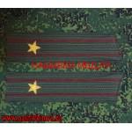 Погоны Росгвардии для кителя звание майор
