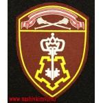 Шеврон вневедомственной охраны Росгвардии Центральный округ с липучкой