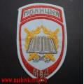 Шеврон постоянного и переменного состава учебных заведений МВД для рубашки голубого цвета