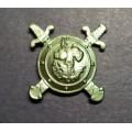 Эмблема петличная ПОЛИЦИЯ МВД (полевая)
