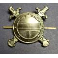 Эмблема петличная Внутренняя служба МВД (полевая)